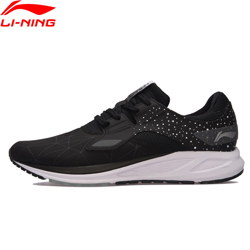 Li Ning Men FLASH Light Weight Running Shoes Breathable LiNing Sports Shoes Wearable Anti Slippery Sneakers