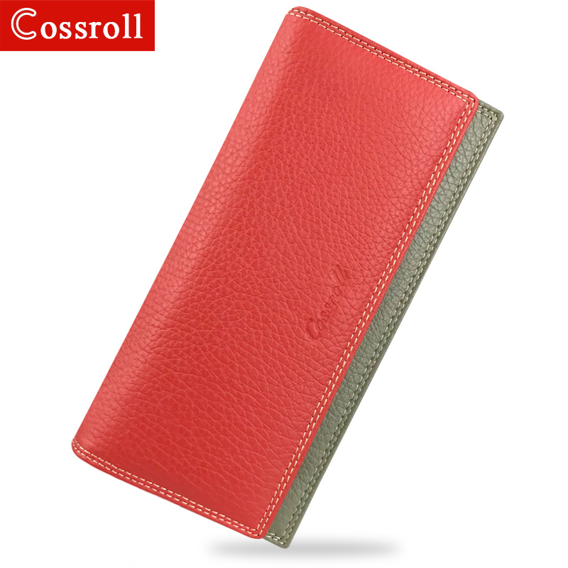 Women Wallet Luxury Brand Genuine Leather Long Female Clutch Wallet High Capacity Ladies Purse Design Money Bag For Dollar Price enopella women wallet brand long wallet women dollar price leather purse high quality wallets brands purse female bag
