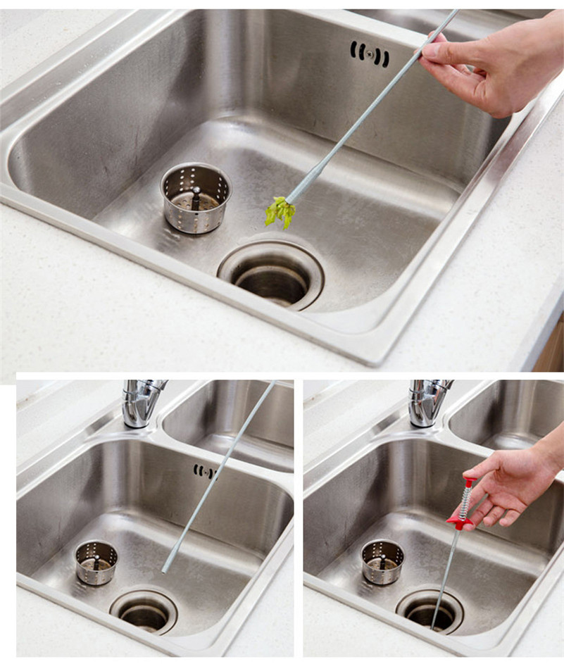 Gancio per tubo fino al lavello della cucina