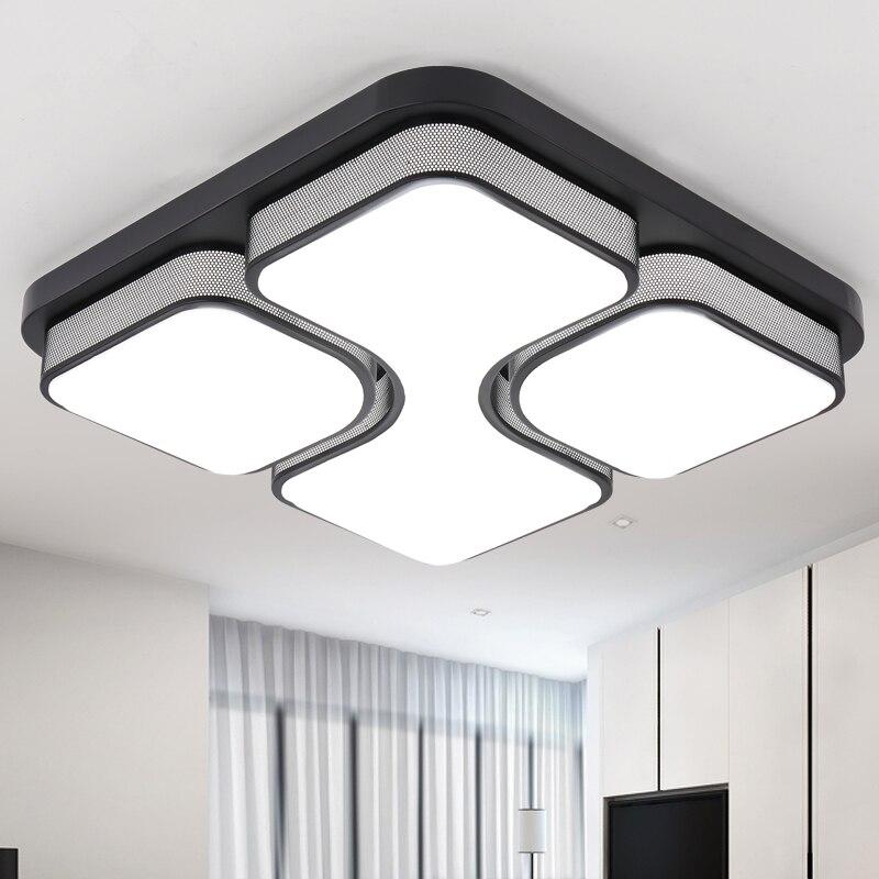 Современный потолочный светильник Lamparas De Techo Plafoniere Lampara Techo Salon спальня свет для светодио дный дома светодиодный потолочный светильник Dcor фо...