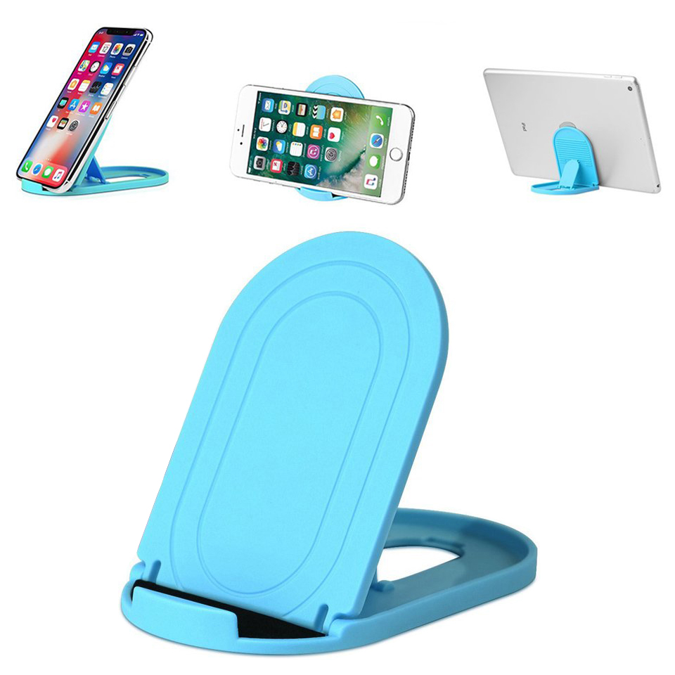 Phone Holder Stand For Iphone X Xs Foldable Mobile Phone Stand For Xiaomi Mi 9 Tablet Stand Desk Phone Holder For Samsung S10 S9 Mobile Phone Accessories