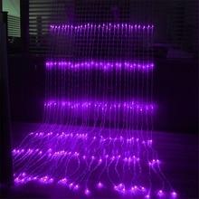 3x2 M/3X3 M/3x6 M น้ำตก LED String Lights วันหยุดม่านแสงงานแต่งงาน Christimas PARTY ตกแต่ง Garland