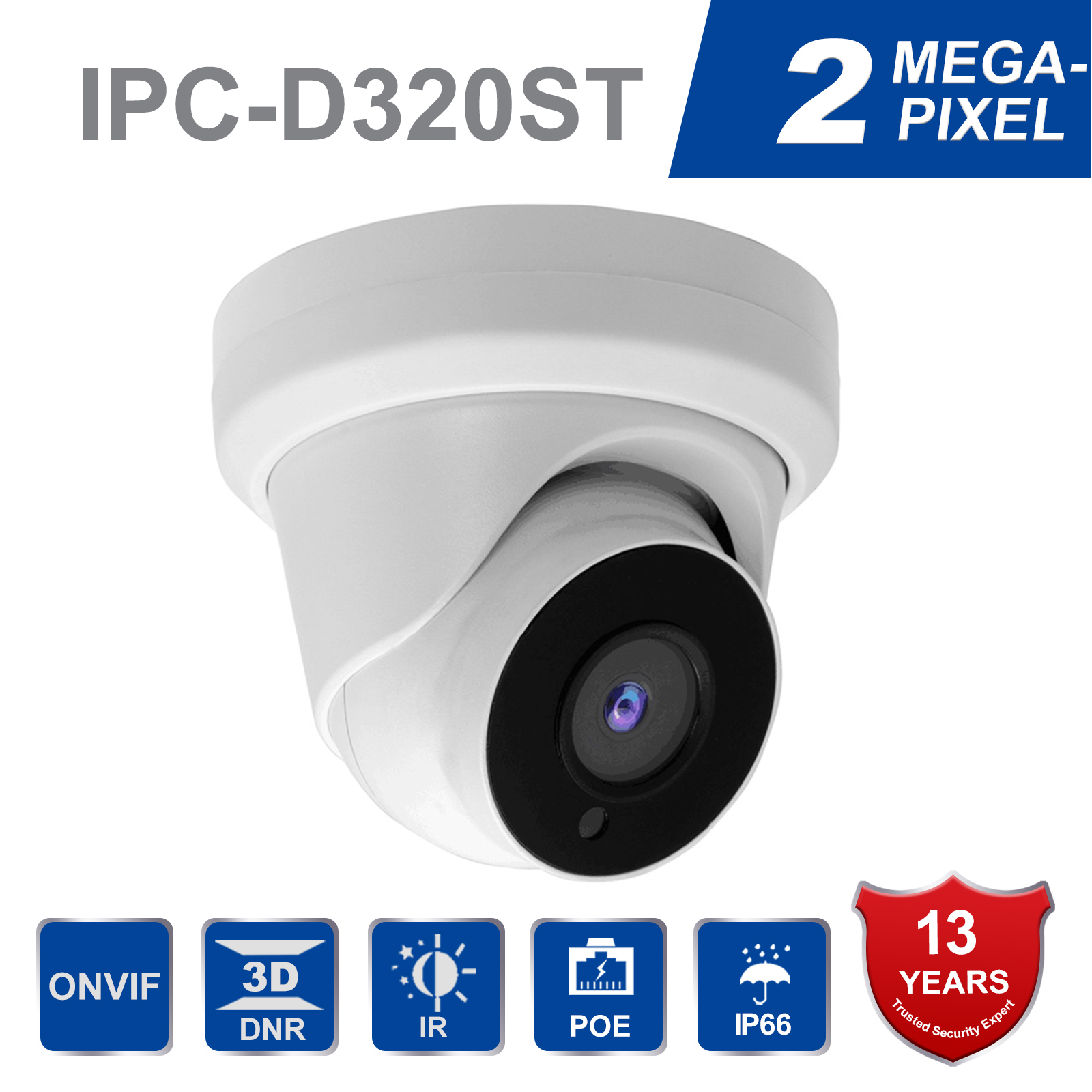 In Stock 2MP Startlight 5X Zoom lens IP Camera POE IP Cam IP66 H265 WDR Plug & Play with Hikvision NVR with Sony CMOS SensorIn Stock 2MP Startlight 5X Zoom lens IP Camera POE IP Cam IP66 H265 WDR Plug & Play with Hikvision NVR with Sony CMOS Sensor