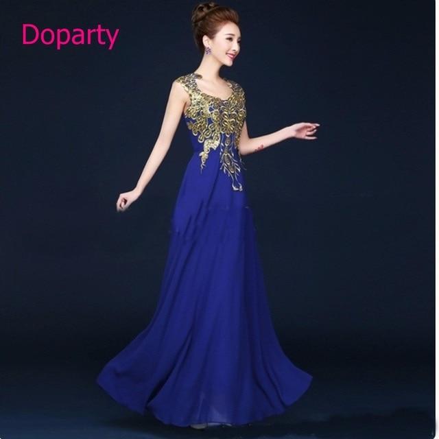 62a733bcd93719 Caftan dubai moderne lange chiffon een line blauw goedkope applicaties  floor lengte scoop formele sociale jurken