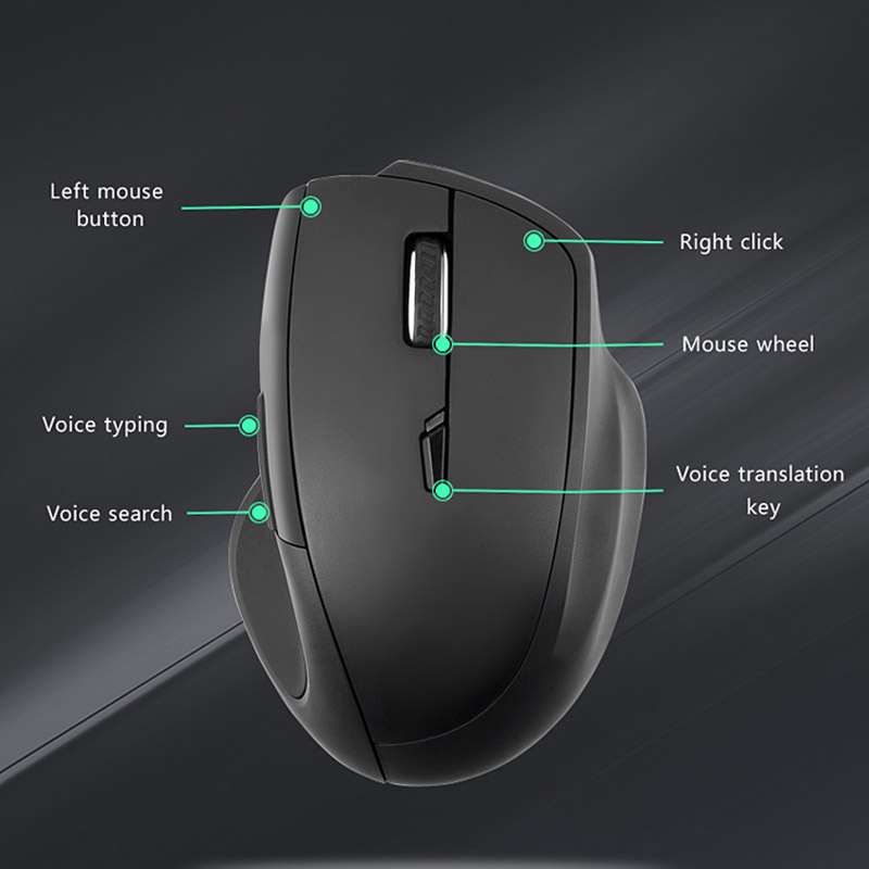 Smart Wireless Mouse 2.4G Translation Voice Control Intelligent For Computer Office SD998