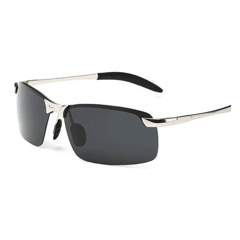 e61f5447c2 Luxury Brand Designer Vintage Polarized Sunglasses Men Rimless Driving Sun  Glasses Trendy Black Male Goggle De Soleil AABY02