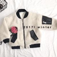 Spring Autumn Girls Jackets Cute Cartoon Pattern Kids Coat Long Sleeve Pure Color Children Outwear New 2018 Baby Girl Clothing