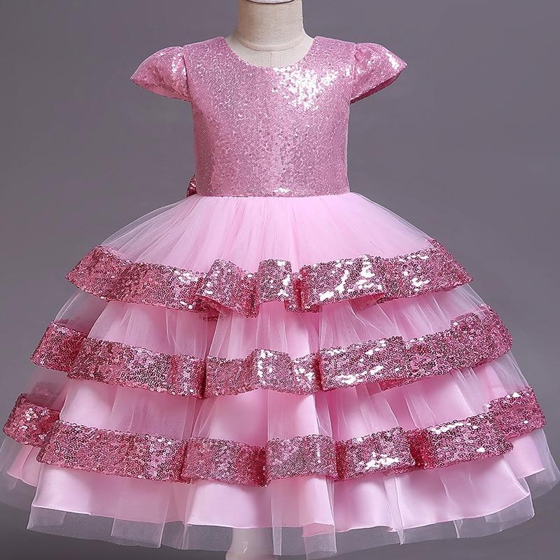 a13a8c448 Venta al por menor nuevo estilo verano flor bebé niña vestido boda niñas  niños vestido de