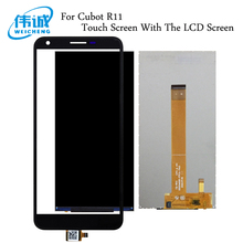 WEICHENG 5.5''For Cubot R11 LCD Display with Touch Screen Digitizer For Cubot R11 Mobile