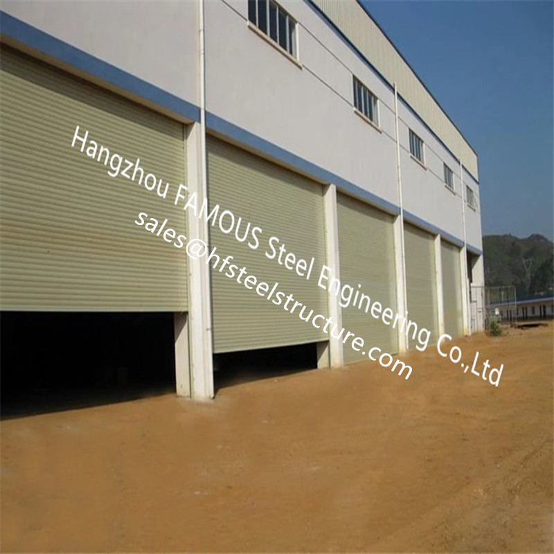 Fire Rated Rolling Shutter Doors With Manual/Electric Control Exterior Dustproof Roll Up Doors For Industry