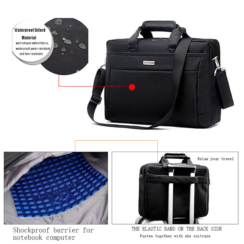 Laptop Tablet Bag 15.6 14 inch Computer School Shoulder Laptop Bags for Men Women 15 Business Travel Notebook Bag jacodel laptop bagpack 15 inch notebook backpack travel case computer pc bag for lenovo asus dell notebook 15 6 inch school bags