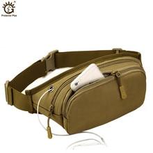 Waterproof Nylon Unisex Waist Pack Tactical Fanny Pack Military Wallet Belt Chest Bag Sport Messenger Bag цена