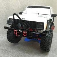 Métal pare-chocs avant Pour 1/10 Axial scx10 Jeep 90035 90027 Rc Crawler Voiture Partie