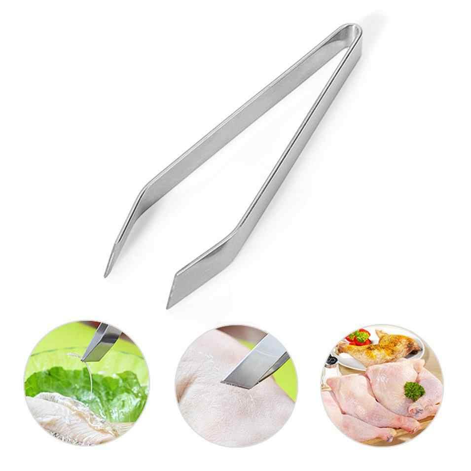 Hot Selling Visgraten Pincet Remover Pincer Puller Tang Pick-Up Rvs Zeevruchten Tool Ambachten