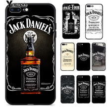 Yinuoda Jack Daniels Whisky High quality Silicone Soft TPU Phone Case for iPhone 8 7 6 6S Plus X XS MAX 5 5S SE XR Cellphones