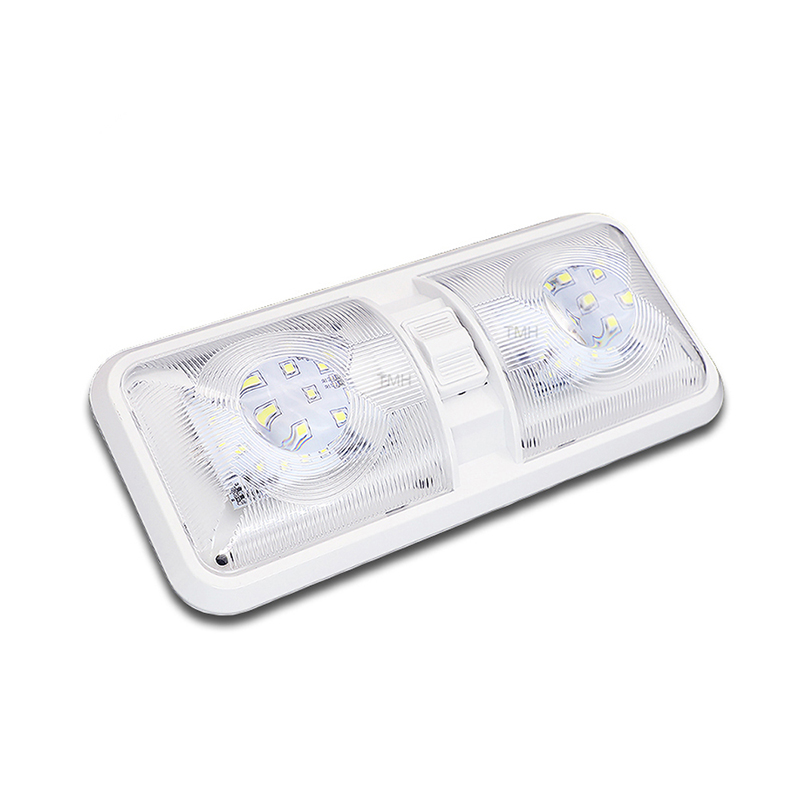 28.5CM 12V LED Caravan Interior Lights <font><b>RV</b></font> <font><b>Motorhome</b></font> Caravan Lamp Motor Home Accessories Dome Light with Switch image
