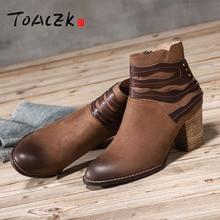 Autumn winter new high heel fluff short boots female restore ancient ways leather round head warm thick cotton