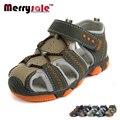 2017 nuevos hombres de las sandalias del muchacho zapatos casuales sandalias y anti-slip hollow aire sandalias de los niños sandalias de los muchachos