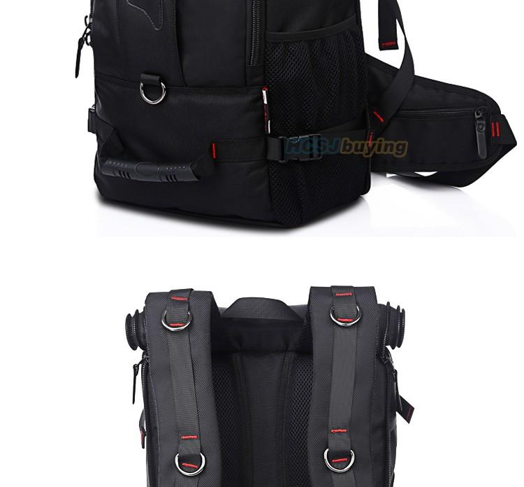 KAKA Men Backpack Travel Bag Large Capacity Versatile Utility Mountaineering Multifunctional Waterproof Backpack Luggage Bag 5