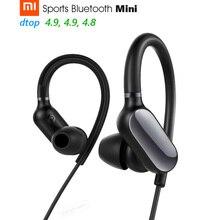 Оригинальные спортивные Bluetooth наушники Xiaomi Mi, в наличии, беспроводные мини наушники Bluetooth 4,1, водонепроницаемые наушники с микрофоном IPX4 для музыки и спорта