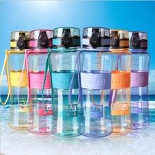Free Shipping Leakproof Seal 450ml / 600ml / 1000ml Nozzle Sports Bike Plastic Tritan Water Bottle with Lid Lip Filter BPA Free