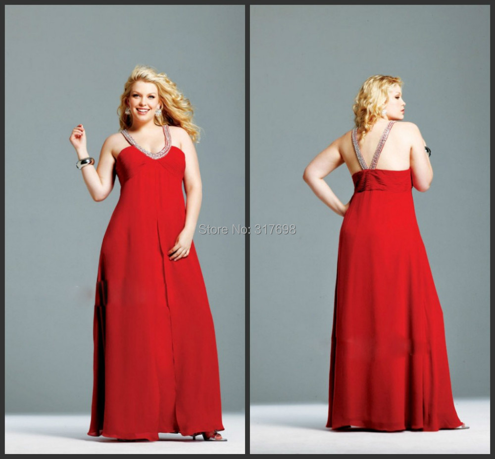 2015 New Plus Size Long Dresses For Chubby Girl Sweetheart A line ...
