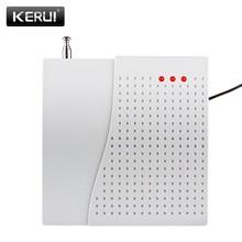 KERUI TD Wireless Signal Repeater Transmitter Enhance Sensros Signal 433MHz Extender For Home Security Burglar Alarm System