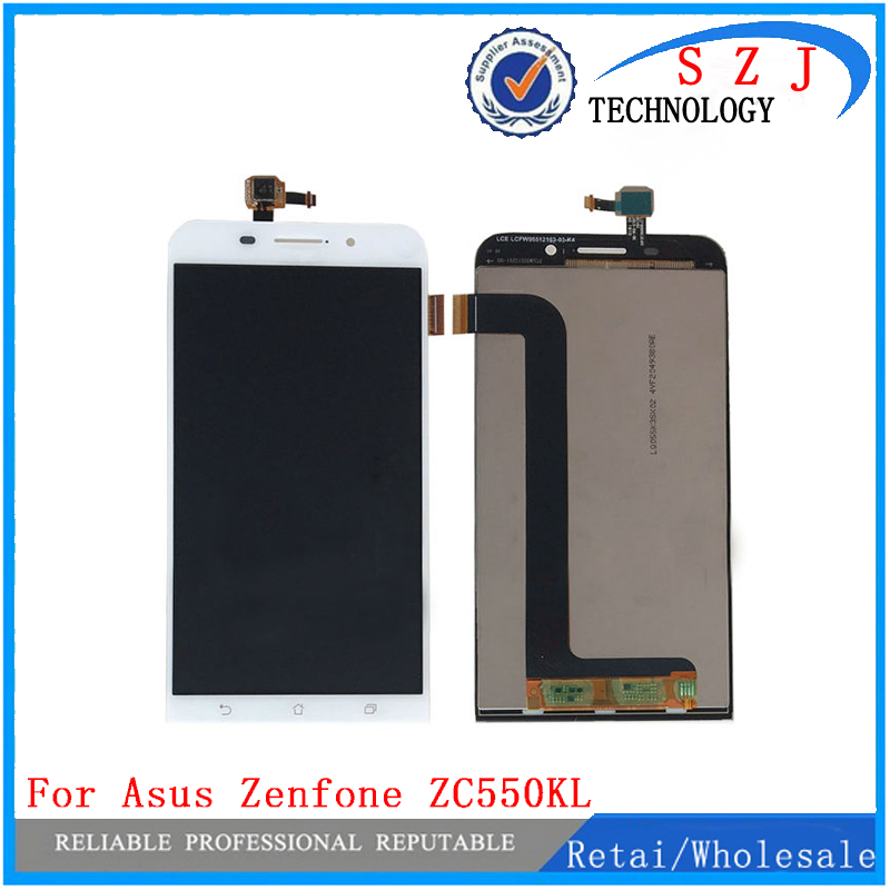 New 5.5'' inch case For Asus Zenfone Max ZC550KL 1280*720 LCD Display + Touch Screen Digitizer Assembly Free shipping 7 inch for asus me173x me173 lcd display touch screen with digitizer assembly complete free shipping