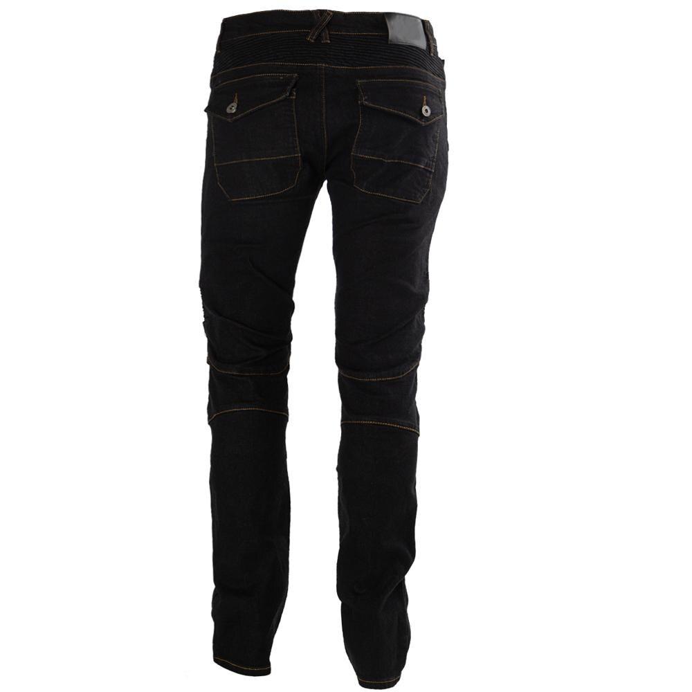 Moto équitation Pantalon Pantalon Moto Jeans pour hommes femmes Motocross course Pantalon avec 4 genouillères hanche protections 2