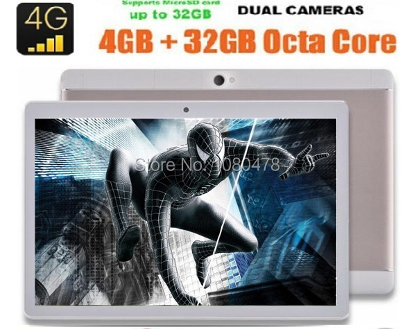 2017 Android 6 0 GPS Tablet 10 inch Octa Core 4G LTE Phone Call 4GB RAM