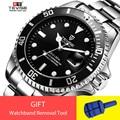 5e6943296e8 Tevise Marca de Topo Homens Relógio Mecânico Automático Data Papel Fashione  submarinista luxo Relógio Masculino Relogio masculino Reloj Hombre