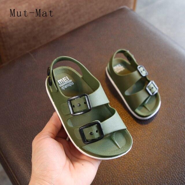 Verano de 2019 niños de Inglaterra zapatos 1-4 años de edad bebé niños sandalias de los niños no es slip sandalias los niños