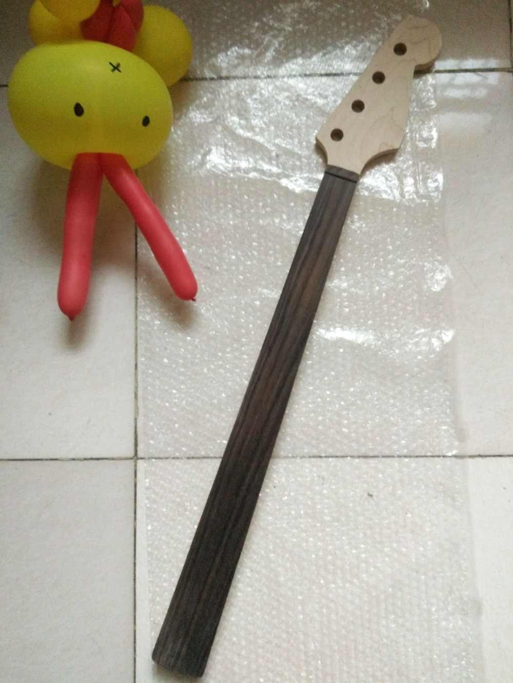 1 PCSFretless клен 20 лада шеи для электрической бас гитары шеи части замены