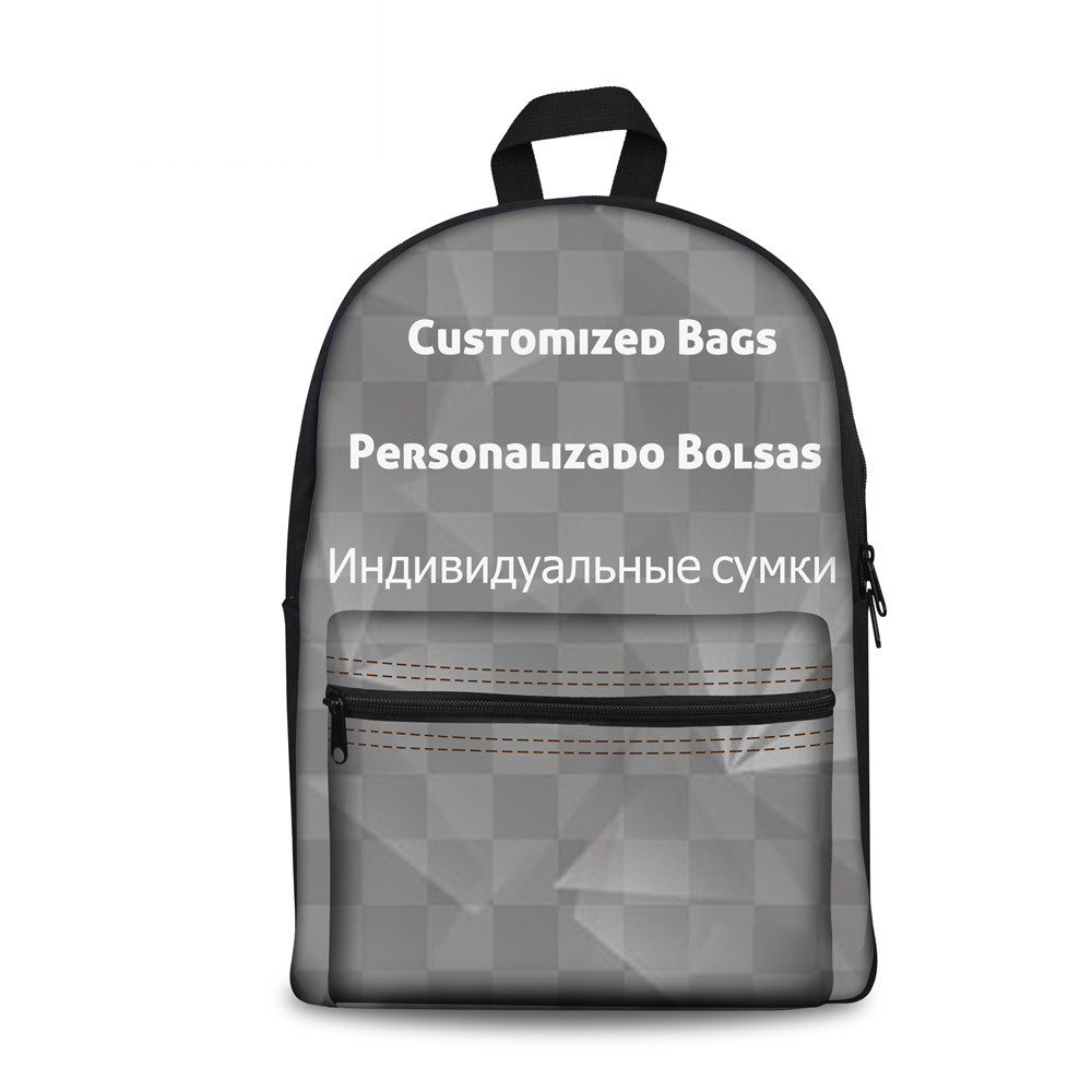 FORUDESIGNS customized backpack for teenager boys and girls students school backpacks 3d high light printing welcome custom point systems migration policy and international students flow
