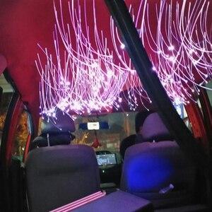 Image 5 - Sound Active Car Fiber Optic Lights Bluetooth APP Control 12V  Star Ceiling Light with 260PCS 0.75mm 2m Fiber Optical Cable