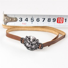 1/6 scale Three Kingdoms Zhang Fei Leather belt model for 12'' soldier action figure