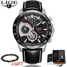 Mens Watches 2018 LIGE Top Brand Luxury