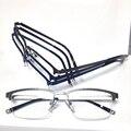 S10013 Light titanium Design HALF glasses Frame Men Optical Glasses Spectacle Frame Armacao Oculos de For Prescription optical