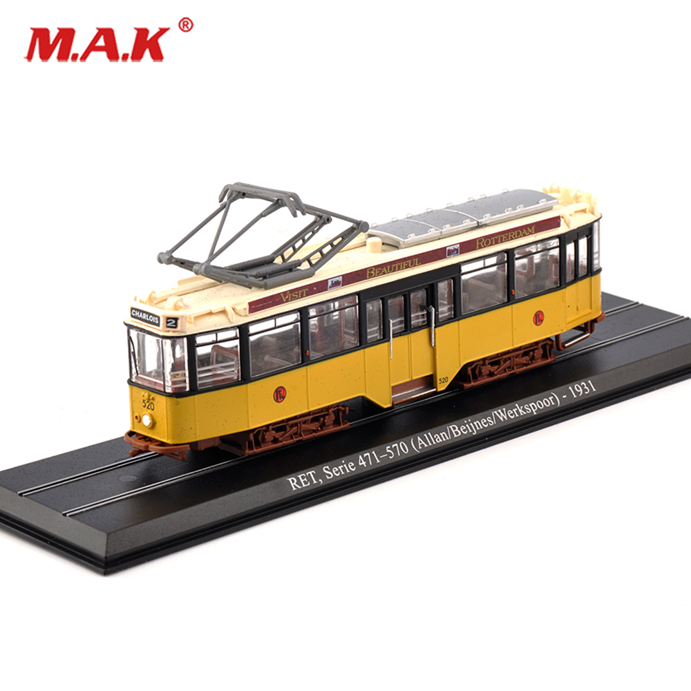 kids toys Tram Atlas Vehicle1/87 Serie 471-570 Allan/Beijnes/Werkspoor Tram Container Transporter Kids Toys Trolley Bus Gift