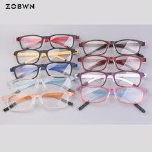 Mix wholesale promotion Black Glasses 9 colors Eyewear Women Men Eyeglasses Myopia Spectacle Student Prescription Frame