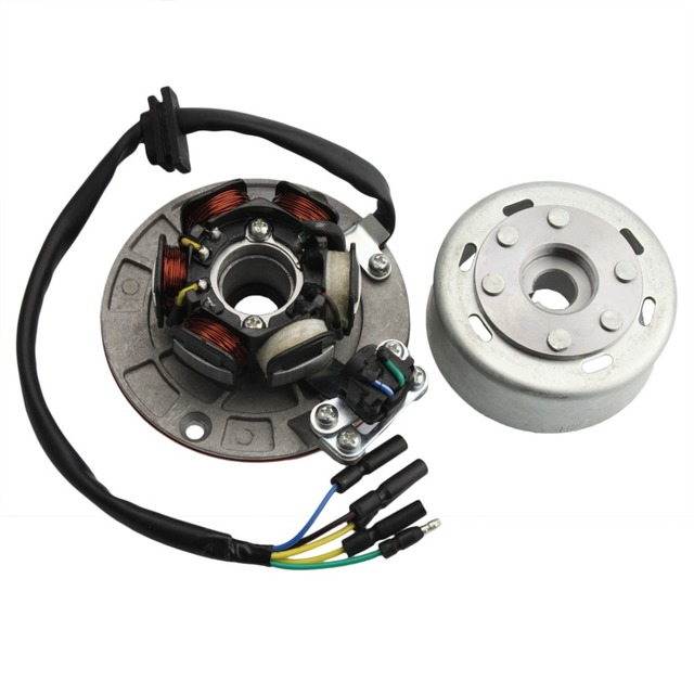 GOOFIT 12 V Magneto Stator Schwungrad Rotor Kit für Yx 140cc 150cc 160cc Pit Dirt Bike Gruppe 6