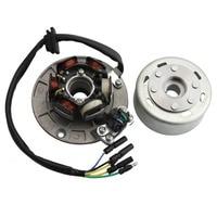 GOOFIT 12V Magneto Stator Flywheel Rotor Kit for Yx 140cc 150cc 160cc Pit Dirt Bike Group 6