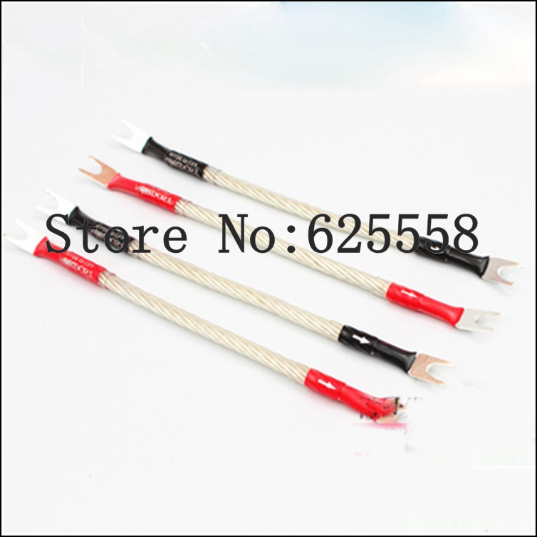 Hi-End Odin Silver Plated Jumper audio Cable hifi speaker Jumper speaker cable mpsource tena hi end 99 99997