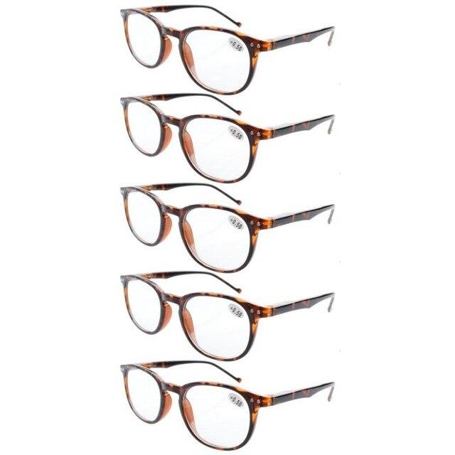 b58832d7ccf R065 Eyekepper 5-Pack Spring Hinges 80 s Reading Glasses Includes Sun  Readers +0.5 0.75 1 1.25 1.5 1.75 2 2.25 2.5 2.75 3 3.5 4