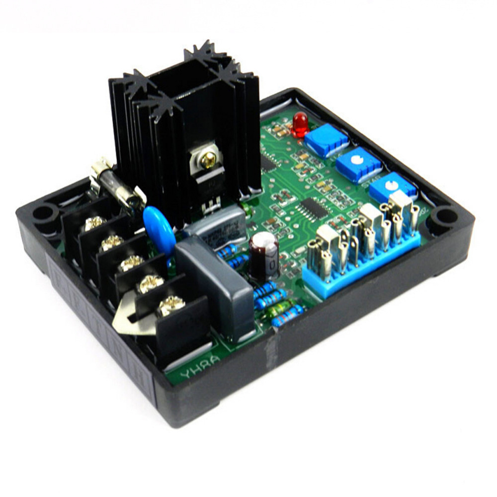 GAVR-8A AVR Generator Automatic Voltage Regulator Module Programmable Input Model 8A MP Fuse Soft Start Voltage Ramping Board