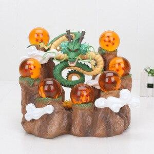 Image 2 - דרגון בול Z פעולה דמויות דרקון Shenron Z אנימה אסיפה דגם צעצועי DBZ עם הר מדף