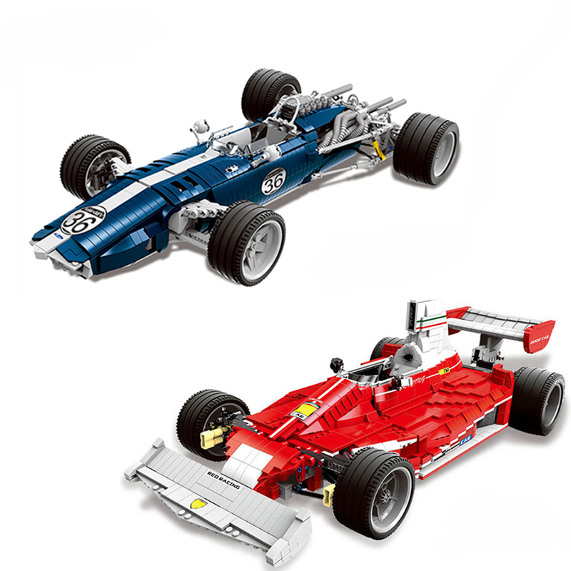 DIY Genuine The Blue Racing Car Set Building Blocks Bricks Compatible with Legoingly Technic Red Car Toys for Children GiftsDIY Genuine The Blue Racing Car Set Building Blocks Bricks Compatible with Legoingly Technic Red Car Toys for Children Gifts