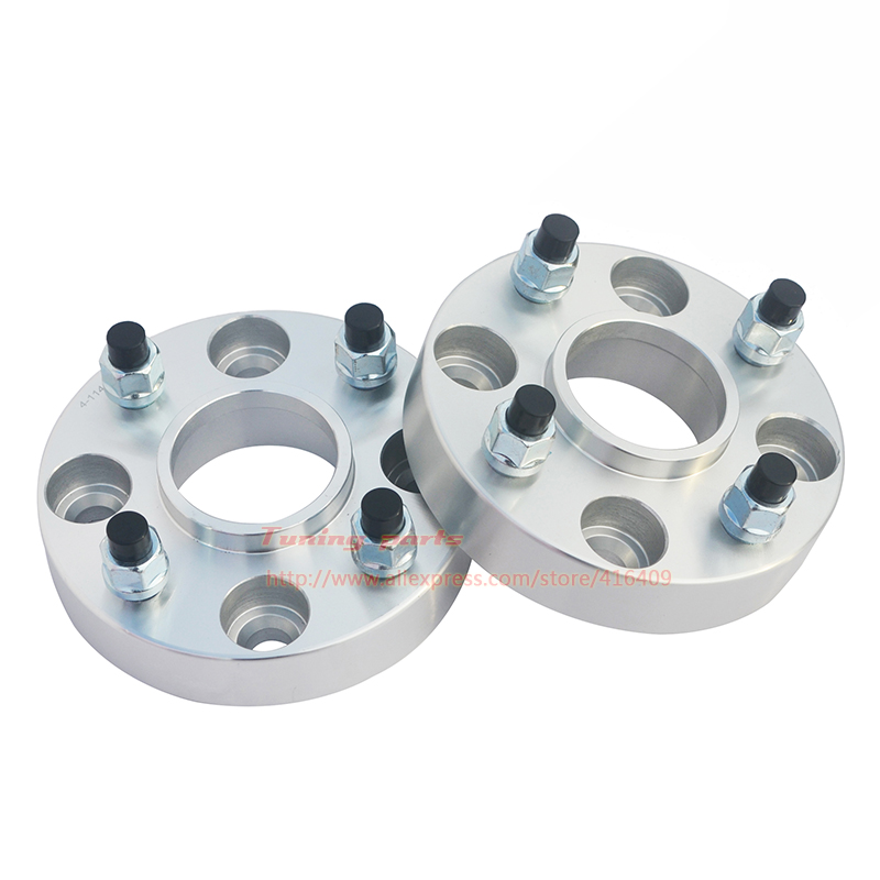 2pcs/lot 15mm 20mm Thick PCD 4x100-54.1Wheel Widened Flange Car Wheel Spacer For Geely MK FC Vision