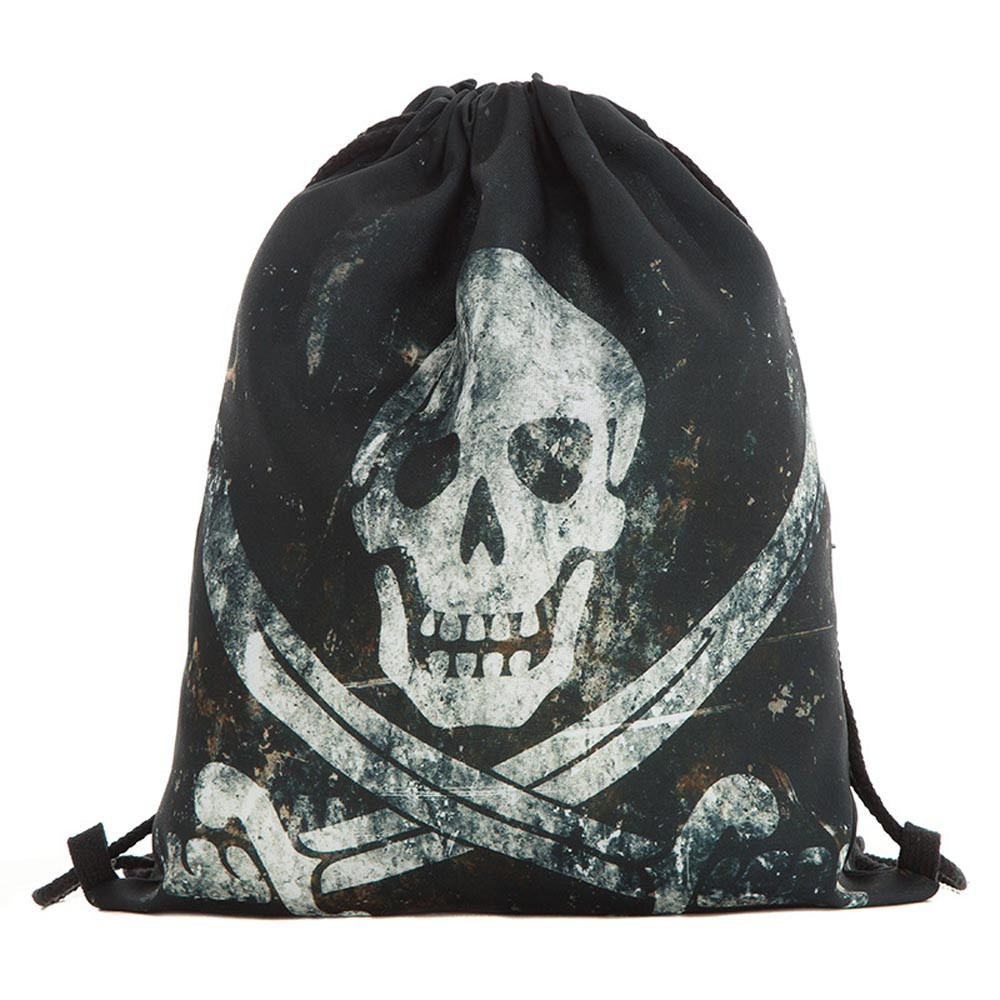 Aliexpress.com : Buy Unisex Drawstring bag Halloween Skull Backpacks 3D  Printing Bags Drawstring Pouch Draw String Bags #C from Reliable Drawstring  Bags ...