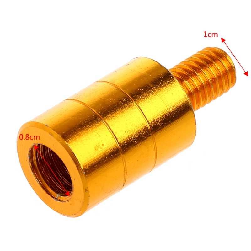 Ootdty Vissen Schepnetsteel Connector Draad Adapter 10 Mm Tot 8 Mm Drop Shipping Ondersteuning